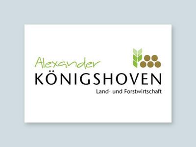Logo Koenigshoven Land- und Forstwirtschaft